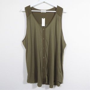 Anthropologie T.la Sojourn Tank Top Made in USA